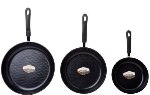 Green 3-Piece by , with Ceramic Non-Stick from Germany