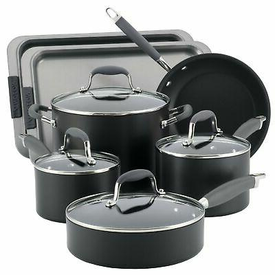 advanced hard anodized nonstick cookware