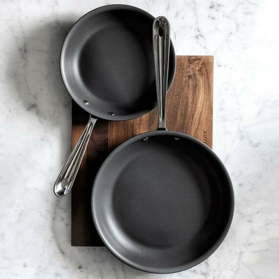 "All-Clad Induction Fry Set of 2 8"" &"