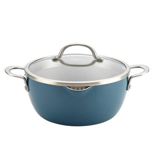 Ayesha Curry 10564 Home Collection Straining Casserole 5.5 q