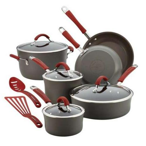 cucina cranberry hard anodized cookware