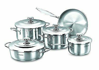 droppa stainless steel cookware set