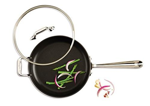 All-Clad E7853364 Hard Anodized Nonstick Dishwasher Safe Cookware,