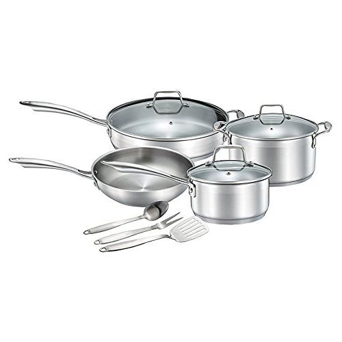 grade stainless steel pots pans