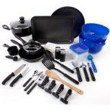 Gibson Home Kitchen Deluxe 59-Piece Cookware Combo Set Pots
