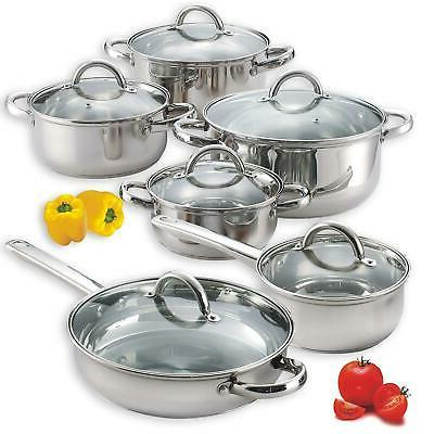 induction cookware set cooking pan and pots