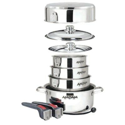 new nestable 10 piece induction cookware
