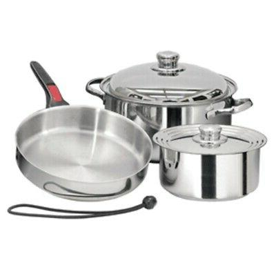 new nestable 7 piece induction cookware