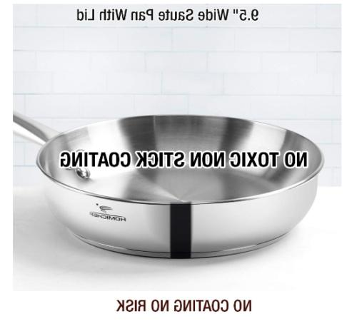 Non-Toxic Stainless Healthy Induction Cookware