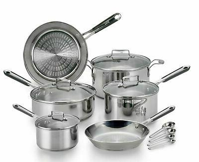 performapro stainless steel cookware set