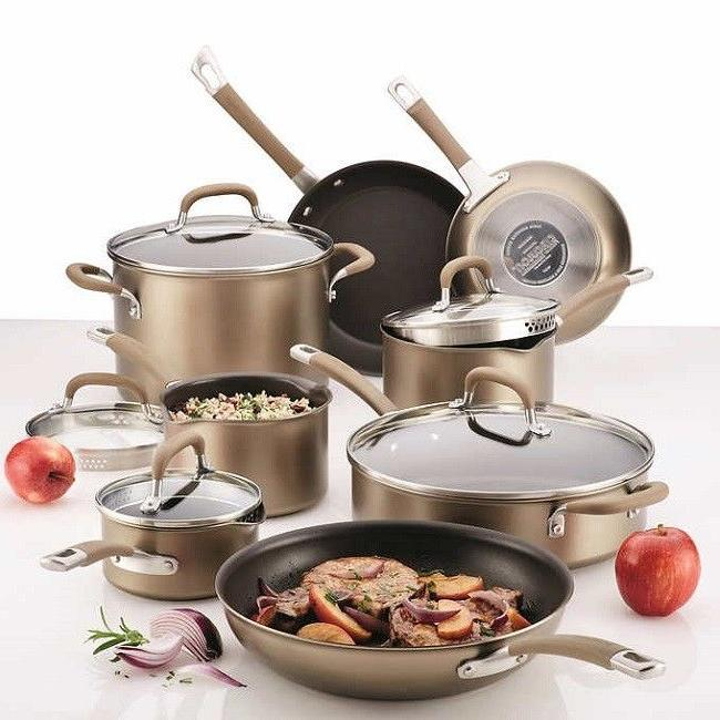 premier hard anodized nonstick cookware