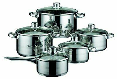 skyline stainless steel kitchen induction cookware pots
