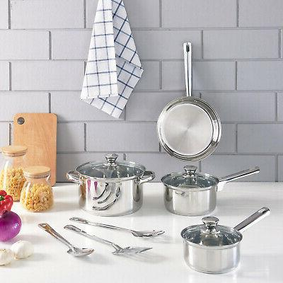 STAINLESS STEEL Kitchen Bowls Lids