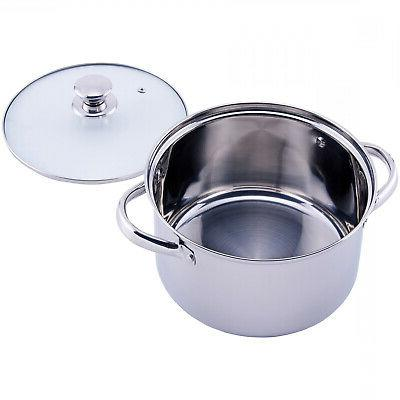 STAINLESS STEEL Kitchen Tools Bowls Lids 10/18/52