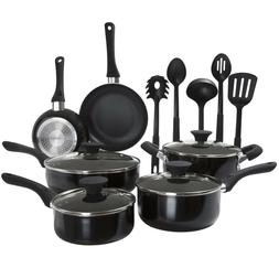 15 Pc Long Lasting Nonstick Induction Ready Cookware Pots an