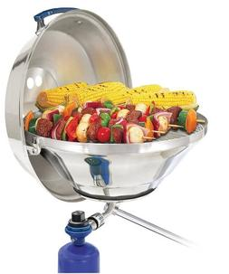 "Magma 40749M MAGMA MARINE KETTLE GAS GRILL PARTY SIZE 17"" W/"