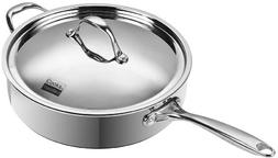 Neway NC00230 Multi-Ply Clad Stainless-Steel 5-Quart 11 in.