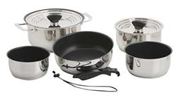 Galleyware Nesting Non-Stick 14-piece Induction Cookware Set