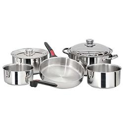 Magma Nesting 10 Piece Stainless Steel Cookware Set