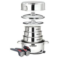 New Magma Nestable 10 Piece Induction Cookware