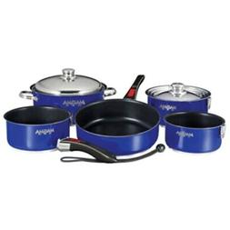 New Magma Nesting 10-Piece Induction Compatible Cookware - C