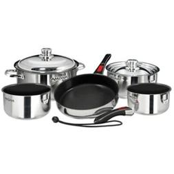 New Magma Nesting 10-Piece Induction Compatible Cookware - S