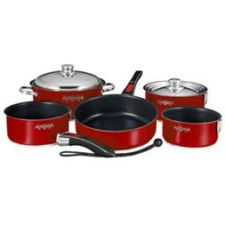 New Magma Nesting 10-Piece Induction Compatible Cookware - M