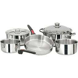 New Magma Nesting 10 Piece S.S. Cookware Set