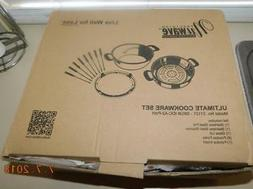 NIB! NuWave Precision Induction Ultimate Cooktop Set #31121