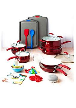 Tasty 30 Piece Non-Stick Cookware Set + Google Home Mini - R