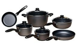 Swiss Diamond HD Nonstick 10 Piece Cookware Set