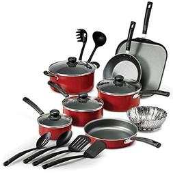 18 Piece Nonstick Pots & Pans Cookware Set Kitchen Kitchenwa