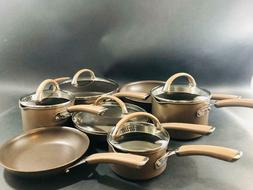 Circulon Premier Professional 12pc Nonstick Cookware Set Sta