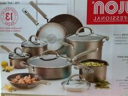 Circulon Premier Professional 13-piece Hard Anodized Cookwar