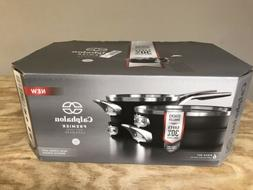 Calphalon Premier Space Saving Nonstick 6 Piece Set New With