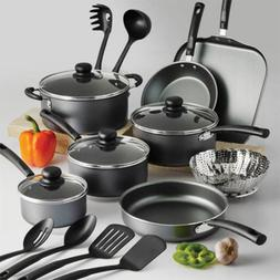 Set Of Pots And Pans Large Cooking 18-Piece Professional Bes