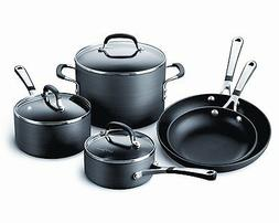 CALPHALON Simply Hard-Anodized Nonstick 8-Piece Cookware Set
