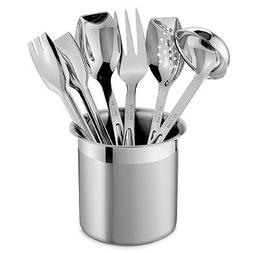 stainless steel cook serve set