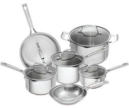Emeril Lagasse 12 Piece Stainless Steel Copper Core Cookware