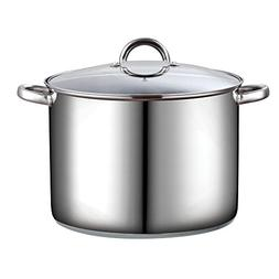 Cook N Home 16 qt. Stainless Steel Stock Pot with Lid