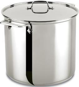 All-Clad Stainless Steel 16 Qt. Stockpot w/Lid