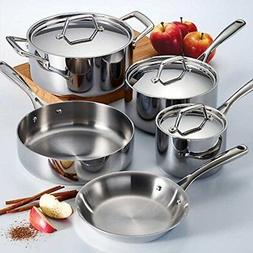 Tramontina 80116/597DS Stainless Steel Tri-Ply Clad Cookware