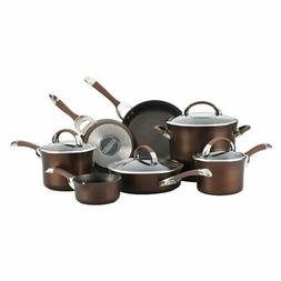 Circulon® Symmetry 11-pc. Chocolate Hard-Anodized Nonsti