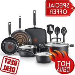 T-fal C530SC Signature Nonstick Dishwasher Safe Cookware Set