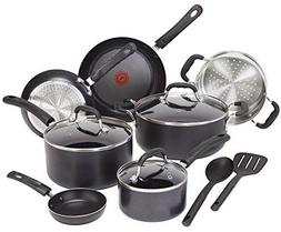 T-Fal Induction Cookware Set Nonstick Fry Pan Stock Pot Cook