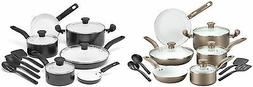 t fal initiatives ceramic nonstick cookware sets