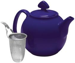Chantal Tea for Four Teapot with Stainless Steel Infuser, 1-
