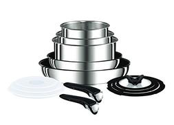 Tefal  Ingenio Pan Set, Stainless Steel, 13-Piece