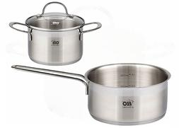 ELO Top Collection 18/10 Stainless Steel Kitchen Induction S