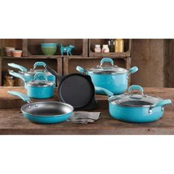 The Pioneer Woman Vintage Speckle 10-Piece Non-Stick Pre-Sea